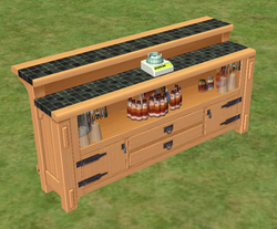 Ts2 the impossible mission island bar