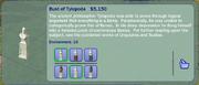 Bust of Tylopoda