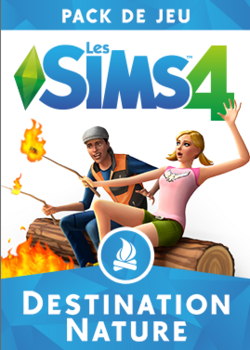 Packshot Les Sims 4 Destination Nature