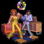 Render Les Sims 3 70's 80's 90's 01