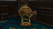 16th Century Monte Vista Globe Bar Detail