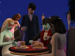 Count Dracula's Wedding Party