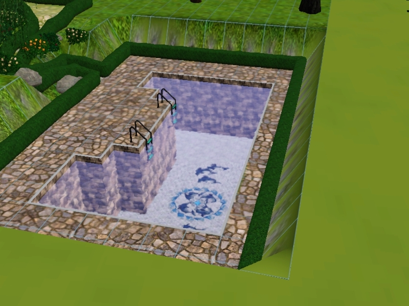 Swimming pool the sims wiki fandom powered by wikia for Pool design sims 3