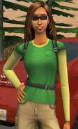 Trisha Traveller In-game