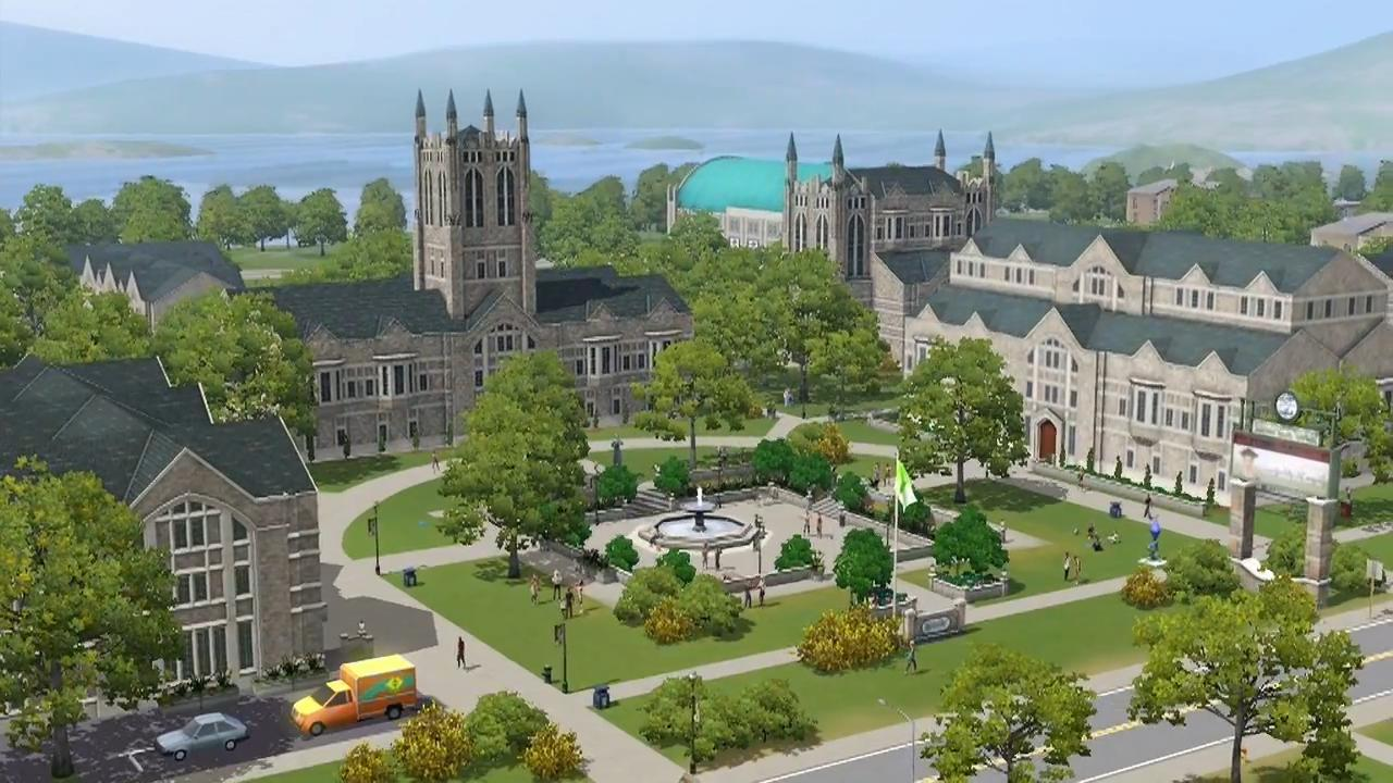 Sims University The Sims Wiki FANDOM Powered By Wikia - Blank world map sims 3
