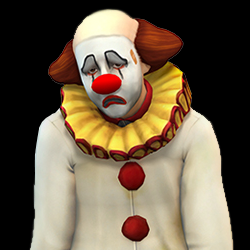 Tragic Clown (The Sims 4)