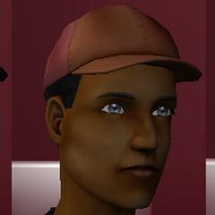 La gorra azul se oculta en el juego, mientras que la naranja y la negra no están en el juego.