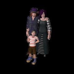 Familie Grusel in <i>Die Sims 3</i>