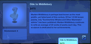 Ode to Middlebury