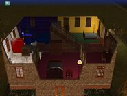Goth home the sims 2 second floor