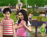 Les Sims 3 Fond d'écran Parc 1280x1024