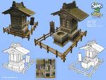 Les Sims 2 Bon Voyage Concept art 1