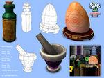 Les Sims 2 La Vie en Appartement Concept art 3