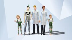 Famille Pipette (Les Sims 4)