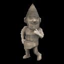 Gnome magique de la sculpture