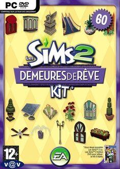 Jaquette Les Sims 2 Demeures de rêve