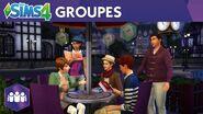 Les Sims 4 Vivre Ensemble bande-annonce officielle sur les groupes