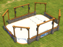 Rustic Ice Rink