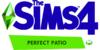 The Sims 4 Perfect Patio Stuff Logo