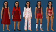 Bella Bachelor ts3 wardrobe