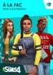 Couverture Les Sims 4 À la fac