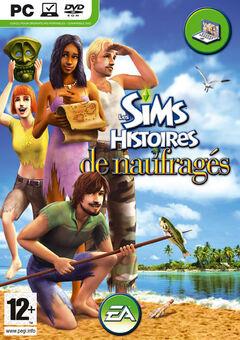 Jaquette Les Sims Histoires de naufragés