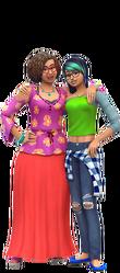 Les Sims 4 Être parents render 03