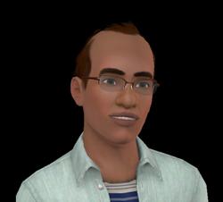 Omar Matlapin (Les Sims 3 - Lucky Palms)