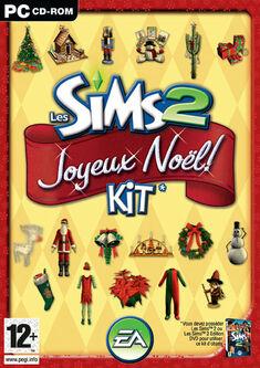 Jaquette Les Sims 2 Joyeux Noël