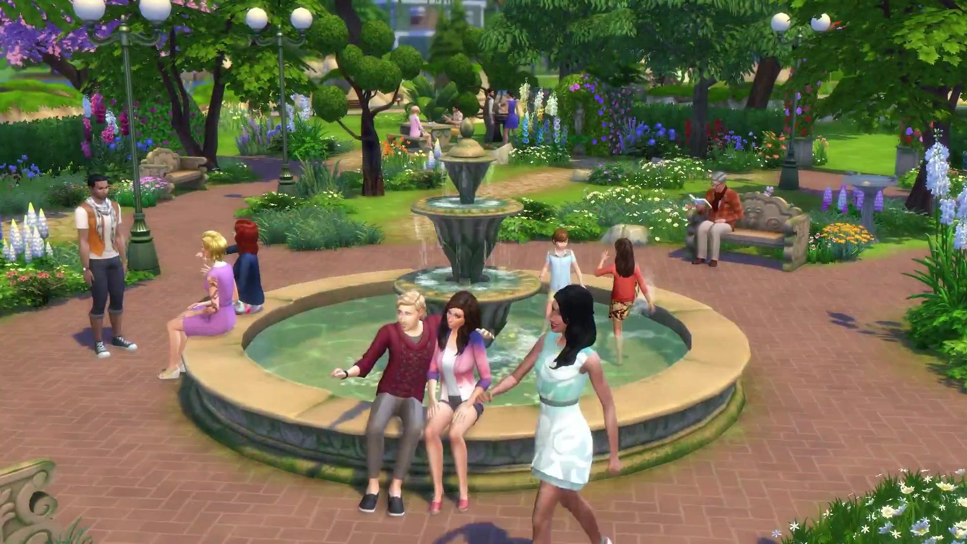 Image the sims 4 romantic garden stuff official trailer for Sims 4 jardin romantico