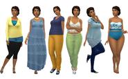 Ann Outfits TS4