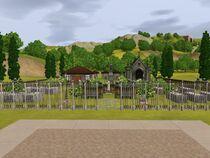Cementerio de Champs Les Sims