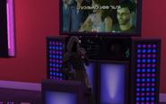 Grim Reaper singing karaoke