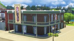 The Blue Velvet Nightclub