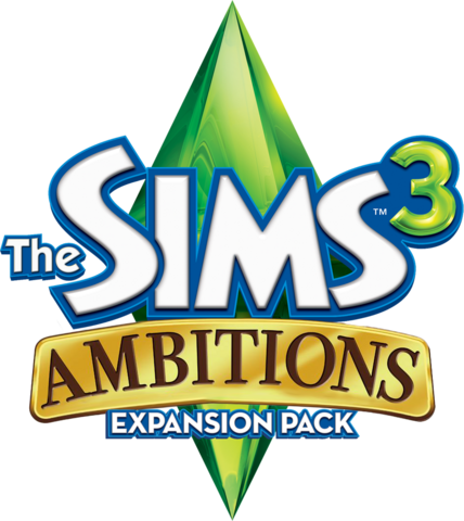 File:The Sims 3 Ambitions Logo.png