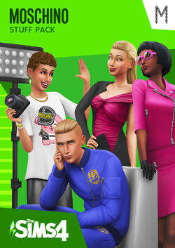 The Sims 4 Moschino Stuff Cover