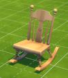 Armless Rocking Chair by Sit'n'Stitch