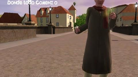 Sims 3 Reto del vagabundo-Gabriel Viñedos Donde todo comenzo