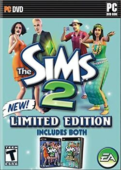 The Sims 2 Bon Voyage Limited Collection Cover