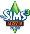 The Sims 3 Movie Stuff Logo