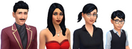 Goth Family headshot