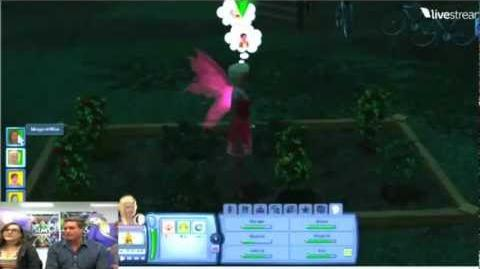 Sims 3 Supernatural Fairies and Zombies Video