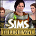 The sims medieval main page button