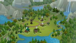 Granite Falls kaart
