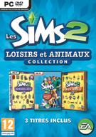 Jaquette Les Sims 2 Loisirs et Animaux Collection