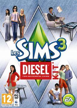 Jaquette Les Sims 3 Diesel