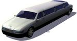 S3 car limowhite