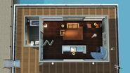 Nossa Primeira Casa Flutuante, primeiro andar