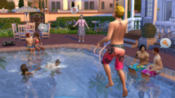 Piscina Sims 4