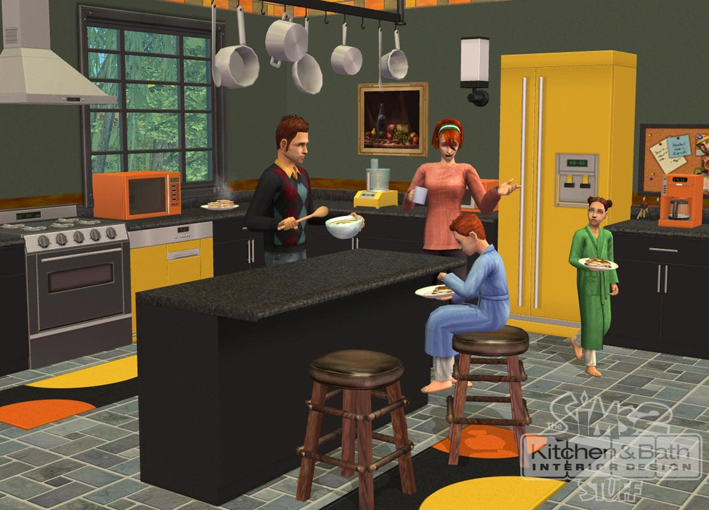 Sims 2 Kitchen And Bath Interior Design Stuff The 8